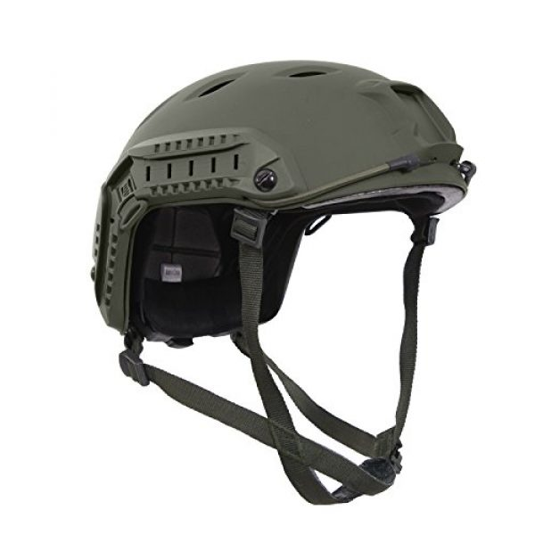 Rothco Airsoft Helmet 1 Rothco Advanced Tactical Adjustable Airsoft (Fast Style) Helmet