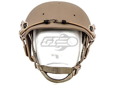 Lancer Tactical Airsoft Helmet 2 Lancer Tactical CA-761 CP AF Air Force Safety Airsoft Helmet (Tan)