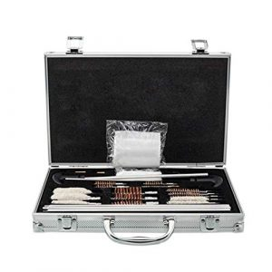 SHUTAO  1 126pcs Outdoor Shotguns Barrel Cleaning Kit Silver