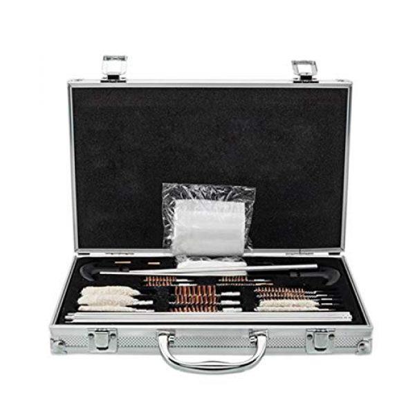 SHUTAO  1 126pcs Outdoor Shotguns Barrel Cleaning Kit Silver
