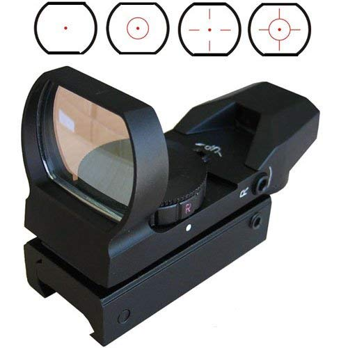 360 Tactical Airsoft Gun Sight 1 360 Tactical Tactical 4 Reticle Red Dot Open Reflex Sight With Weaver Pica Tinny Rail Mount