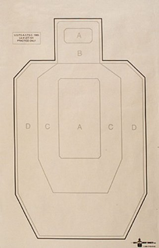 RioRand Airsoft Target 1 RioRand SHOOTI8NG Paper IPSC Shooting Targets 50 Pack