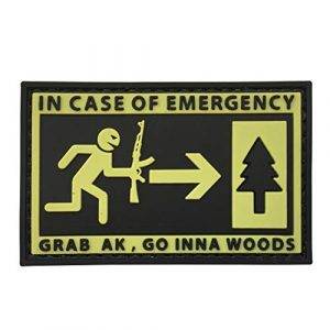uuKen Airsoft Patch 1 in Case of Emergency