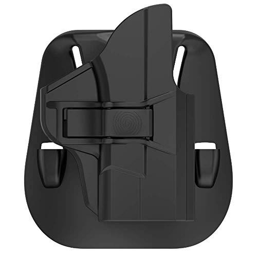 OWB Belt Holster Fits Smith & Wesson MP Shield 9MM/.40 3.1'' Barrel