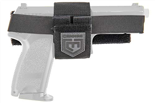 Cannae  1 Cannae Ready Action Tactical Wrap Around Holster - Black