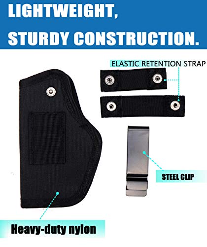 EASTERUP  2 EASTERUP Gun Holster-Fits Compact to Large Handguns Concealed Carry Holster