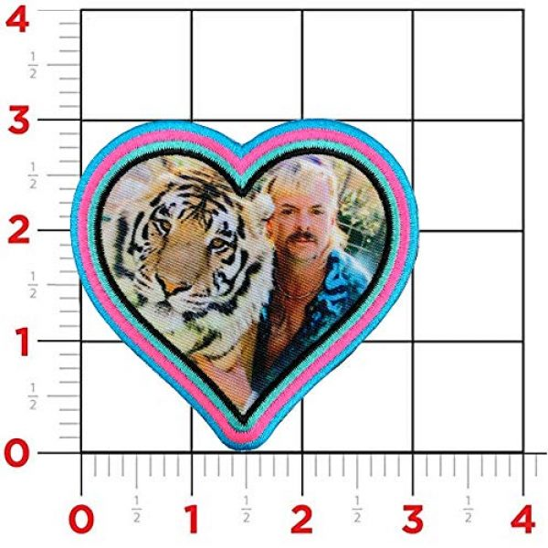 Violent Little Machine Shop Airsoft Morale Patch 2 Violent Little 'Heart of The Tiger King' Joe Exotic Morale Patch with Velcro
