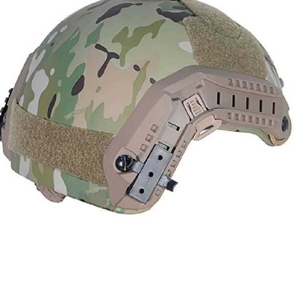 ATAIRSOFT Airsoft Helmet 7 ATAIRSOFT Adjustable Maritime Helmet ABS Multicam MC for Airsoft Paintball
