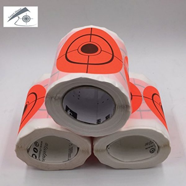Target House Airsoft Target 5 250 Pack Diameter 6.5 cm Self Adhesive Target Stickers for Shooting