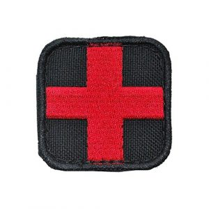Condor Airsoft Patch 1 Condor Medic Patch Black/Red