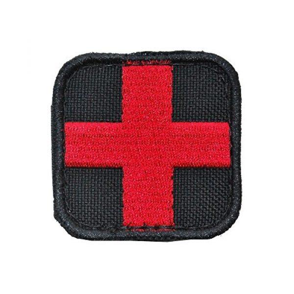 Condor Airsoft Morale Patch 1 Condor Medic Patch Black/Red