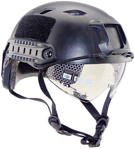iMeshbean Airsoft Helmet 1 iMeshbean Airsoft Swat Helmet Combat Fast Helmet