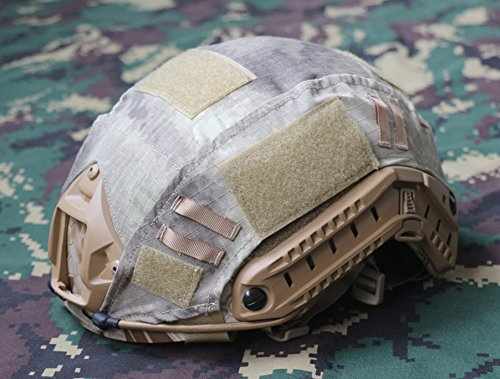 iMeshbean Airsoft Helmet 1 iMeshbean Tactical Series Airsoft Paintball Hunting Shooting Gear Combat Fast Helmet Cover (at)