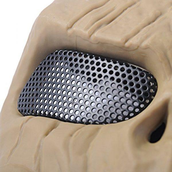 Outgeek Airsoft Mask 5 Outgeek Airsoft Mask Scary Skull Outdoor Full Face Mask Mesh Eye Protection Mask