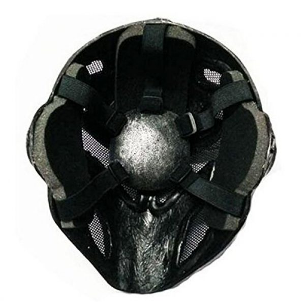 Eternal Heart Airsoft Mask 4 WT808 Cool Knights Templar Protective Wire Mesh Mask for Airsoft Paintball Display