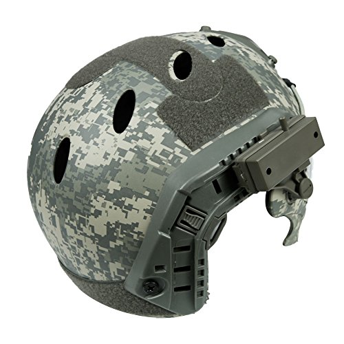 LEJUNJIE Airsoft Helmet 4 LEJUNJIE PJ Tactical Fast Helmet & Full-Covered Military Protective Army Combat Airsoft Paintball Helmet Protect Ears with Mask Goggle
