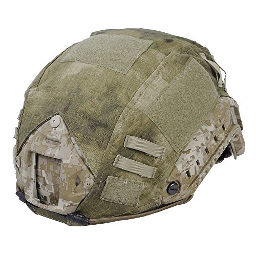 Leagway Airsoft Helmet 1 Leagway Tactical Military Combat Helmet Cover for Ops-Core Fast Ballistic Helmet