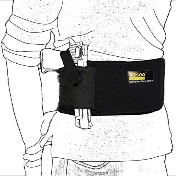wohuu  1 Belly Band Holster for Concealed Carry
