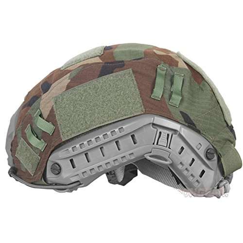 ATAIRSOFT Airsoft Helmet 2 ATAIRSOFT Army Tactical Series Airsoft Paintball Fast Helmet Cover Multiple Colors