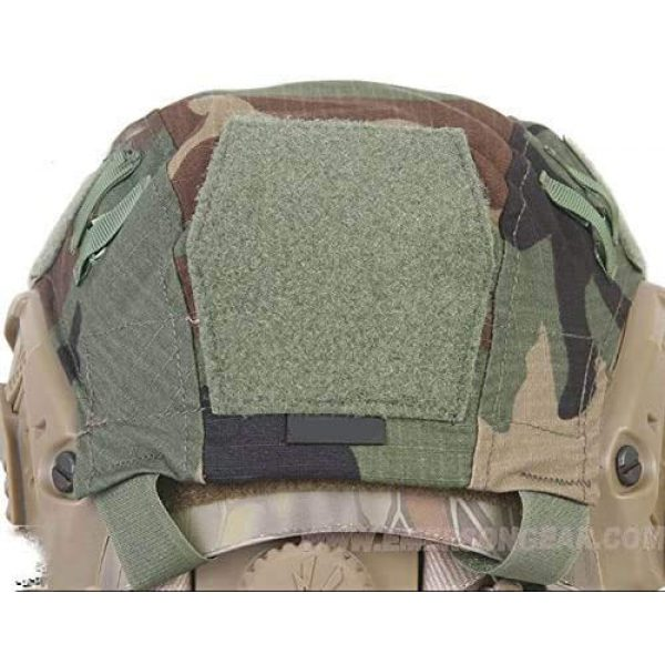 ATAIRSOFT Airsoft Helmet 4 ATAIRSOFT Army Tactical Series Airsoft Paintball Fast Helmet Cover Multiple Colors