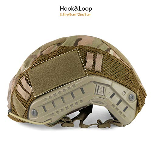 Military Fast Helmet Cover for Fast MH/PJ Helmet (No Helmet)