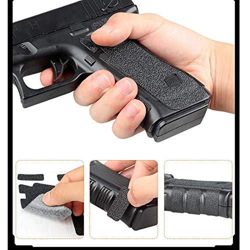 FIRECLUB  5 FIRECLUB 2 Set Non-Slip Rubber Texture Grip Wrap Tape Glove for Glock 17 19 20 21 22 25 26 27 32 33 38 43 Holster 9mm Pistol Accessories