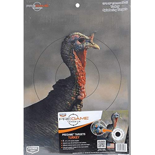Birchwood Casey Airsoft Target 1 PreGame Turkey 12x18 Target 8/Pk