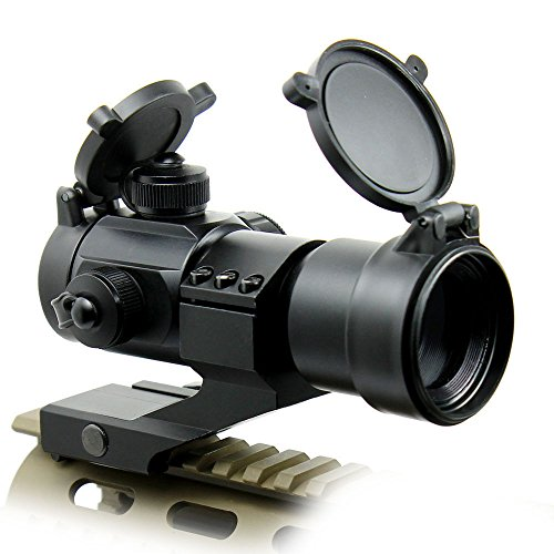 360 Tactical Airsoft Gun Sight 2 Tactical Scope Reflex Stinger 4 MOA Red - Green Dot Sight With Picatinny Mount