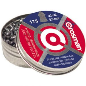 Crosman Pellet 1 Crosman PO22 .22-Caliber Pointed Pellets (175-Count)