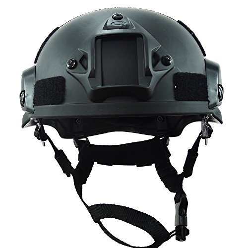 OneTigris Airsoft Helmet 2 OneTigris MICH 2002 Action Version Tactical Helmet ABS Helmet for Airsoft Paintball