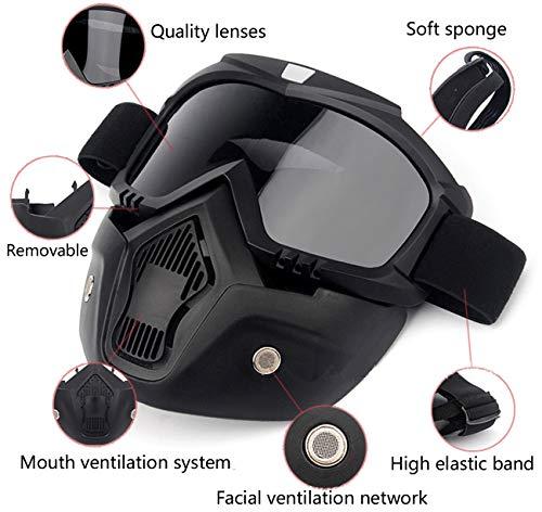 MOCHOEL Airsoft Mask 2 MOCHOEL Motorcycle Goggles Mask