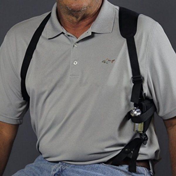 "Wyoming Holster  3 GUN HOLSTER SHOULDER SCCY CPX-4 380 ACP 2.9"" BRL M&P Shield M2.0 9MM 3.1 BRL M&P 22 Compact 22LR 3.6"" BRL GLOCK G48 8"
