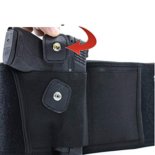 Mudoro  5 Mudoro Belly Band Concealed Hand Gun Holster Suitable for Men and Women - Right or Left Hand