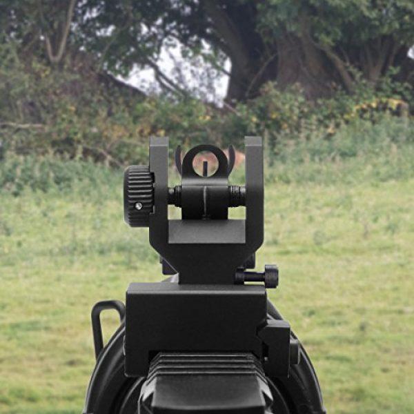 Marmot Airsoft Gun Sight 3 Marmot Flip Up Iron Sights A2 Front Sight & Rear Sight for Gun Rifle Handgun