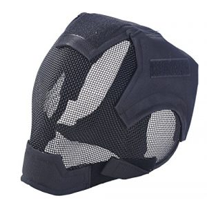 Outgeek Airsoft Mask 1 Outgeek Airsoft Mask Full Face Mask War Game Steel Mesh Protective Mask