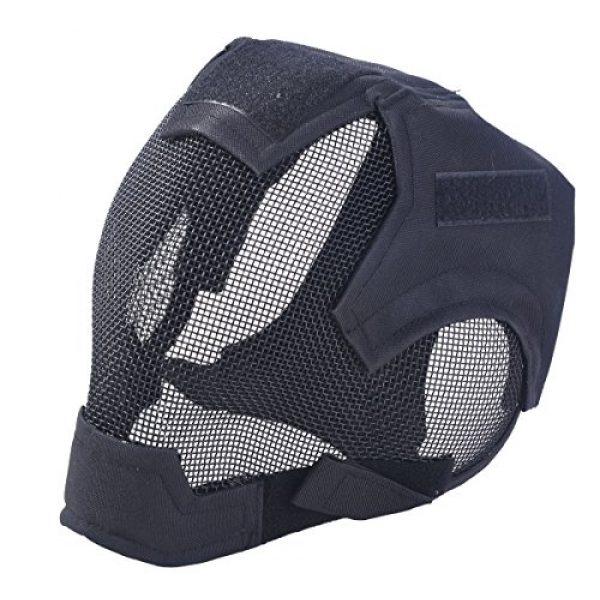 Outgeek Airsoft Mask 1 Outgeek Airsoft Mask Full Face Mask War Game Steel Mesh Protective Mask