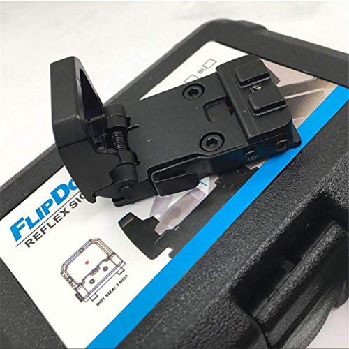 ARWIN Airsoft Gun Sight 2 Flip Red Dot Sight RMR Holographic Reflex Sight for Shooting Hunting for Glock or 20mm Picatinny (Black)