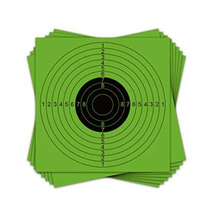 SMARSTICKER Airsoft Target 1 SMARSTICKER Air Shooting Paper Target-Fit for Portable BB Bullet