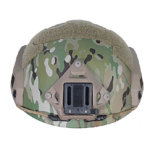 ATAIRSOFT Airsoft Helmet 6 ATAIRSOFT Adjustable Maritime Helmet ABS Multicam MC for Airsoft Paintball