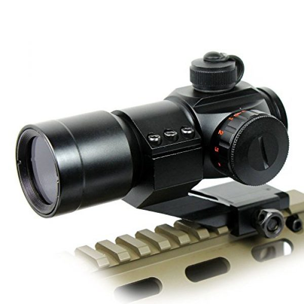 360 Tactical Airsoft Gun Sight 4 Tactical Scope Reflex Stinger 4 MOA Red - Green Dot Sight With Picatinny Mount