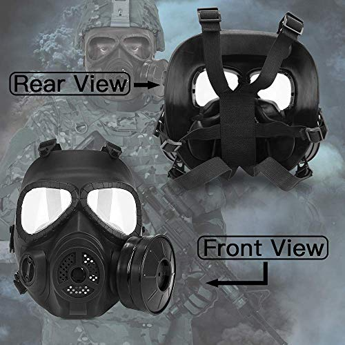 Protection Skull Dummy Game Mask with Adjustable Strap for BB Gun CS Paintball Cosplay Costume Halloween Masquerade