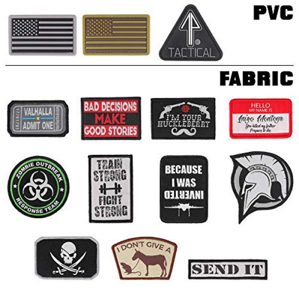 """14er Tactical Airsoft Morale Patch 7 14er Tactical Morale Patches (14-Pack) 