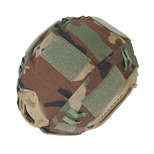 ATAIRSOFT Airsoft Helmet 3 ATAIRSOFT Army Tactical Series Airsoft Paintball Fast Helmet Cover Multiple Colors