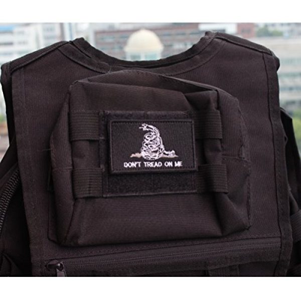 CREATRILL Airsoft Patch 6 Bundle 6 Pieces Tactical Military Morale Patch Set (A)