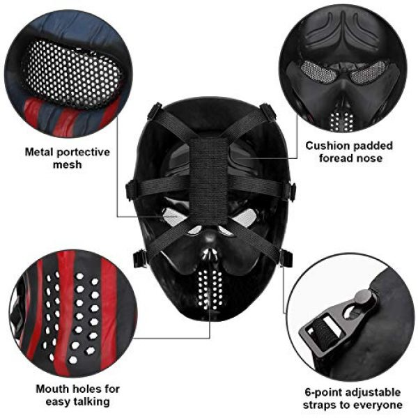 BeyongGear Airsoft Mask 3 BeyongGear Airsoft Mask