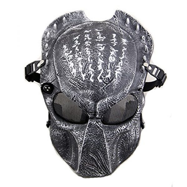 ATAIRSOFT Airsoft Mask 1 ATAIRSOFT Tactical Airsoft Paintball Alien Protective Full Face Mask