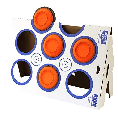 Birchwood Casey Airsoft Target 2 Birchwood Casey Rigid Clay Target A-Frame Stand Corrugated Cardboard Kit