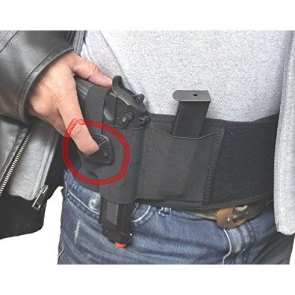 Explorer  1 EXPLORER Belly Holster Adjustable Size XL Ultimate Concealed Carry Black Fits Gun Smith and Wesson Bodyguard