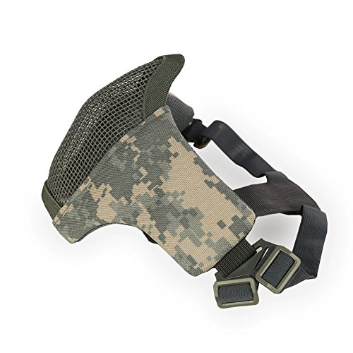 Aoutacc Airsoft Mask 2 Aoutacc Airsoft Mesh Mask