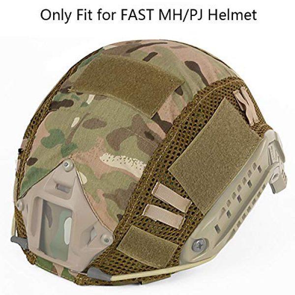 Aoutacc Airsoft Helmet 1 Aoutacc Tactical Multicam Helmet Cover